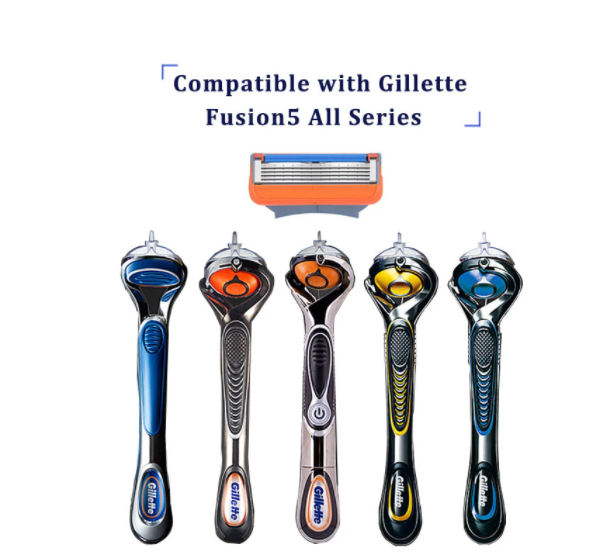 12 st ProGlide Rakblad För Gillette Fusion Män
