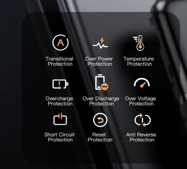 Powerbank 10000mAh bärbar laddning PowerBank 10000 mAh USB extern batteriladdare för Android iPhone