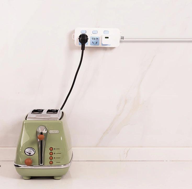 Dubbelsidigt självhäftande väggkroks hängare genomskinliga krokar sugkopp sucker väggförvaringshållare för kabel elektronik kök badrum - 10 st