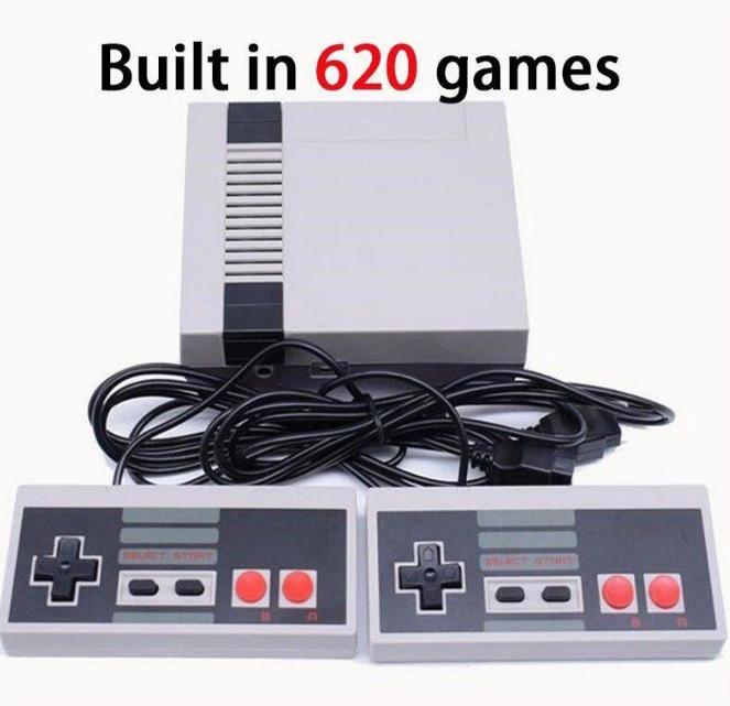 Klassisk Spelkonsol med 620 st inbyggda spel