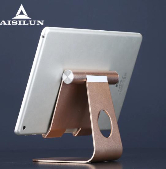 Tablett stativhållare Surfplatta hållare för Ipad -stativ Mini 12,9 11 10,9 7,9 tums surfplattemonteringsstöd Skrivbordstillbehör Justerbart fäste