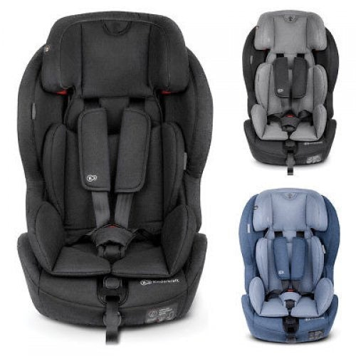 Kinder Kraft Safety Fix ISOFIX bilstol 9-36 kg/ Svart