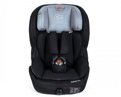 Kinder Kraft Safety Fix ISOFIX bilstol 9-36 kg/ Svart