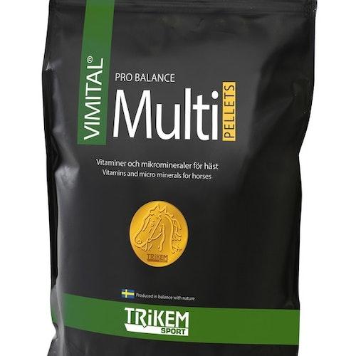 Vimital Multi PB Pellets 1000 g -Vitaminer och Mikromineraler för året runt 1000 gr