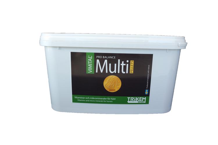 TRIKEM Vimital Multi PB Pellets 3,5 kg -Vitaminer och Mikromineraler för året runt