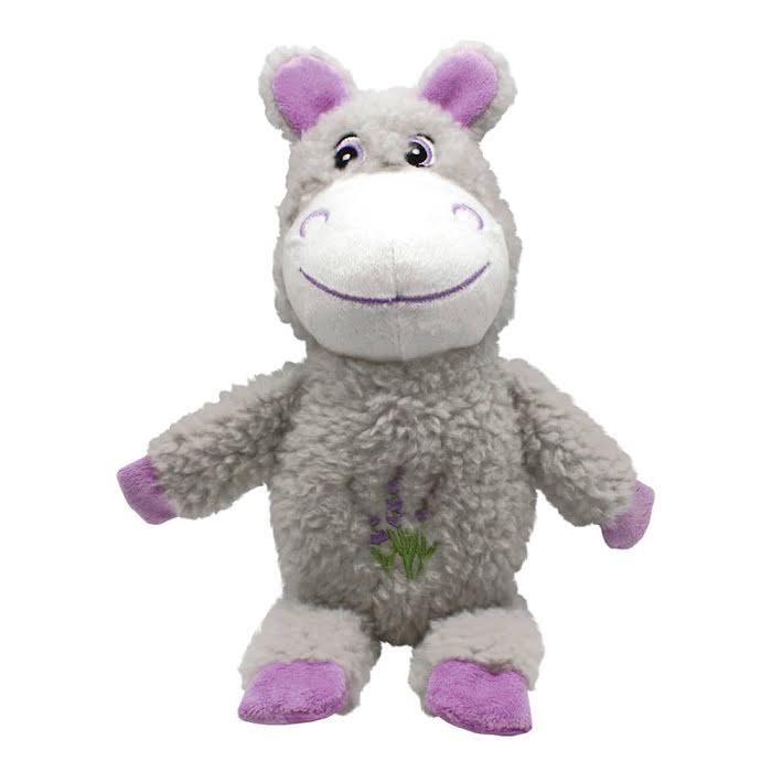 Plyschflodhäst med lugnande lavendel