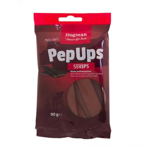 PepUps Strips Biff 90g