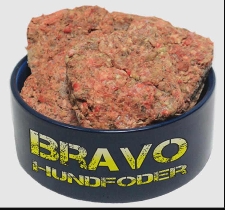 Bravo Plus med Ox (grönsaker) 8 x150 gr burgare (1,2 kg)