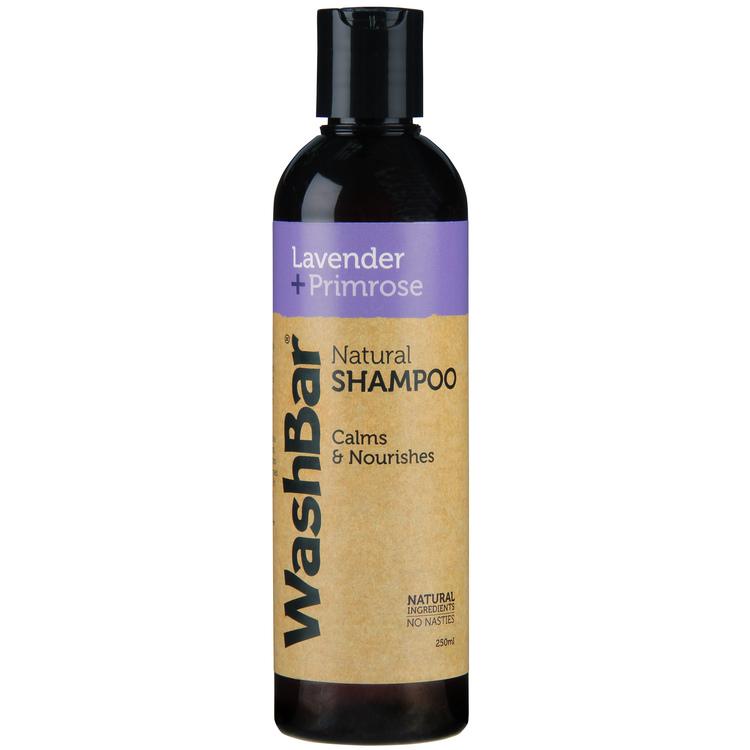 WashBar Lavender & Primrose Shampoo 250 ml