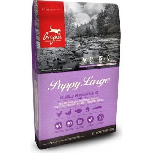Orijen Dog Puppy Large Breed Kyckling/Kalkon Spannmålsfritt