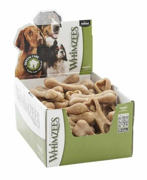 Vegetariska Risben Whimzees® Ricebone Veggie Dental Chews Large 9 st