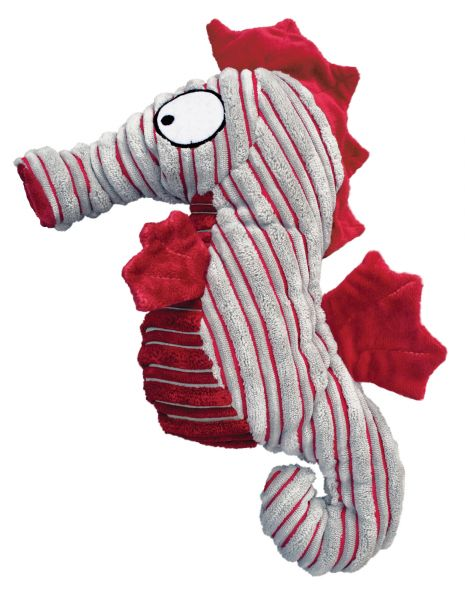 KONG Leksak CuteSeas Seahorse Röd S 18cm