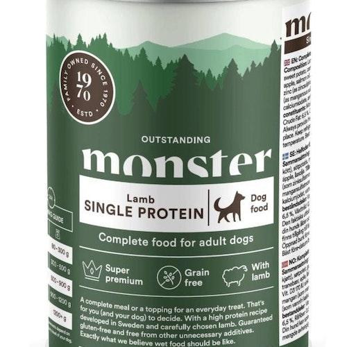 Monster Dog Adult Single Lamb Burk 400 gr