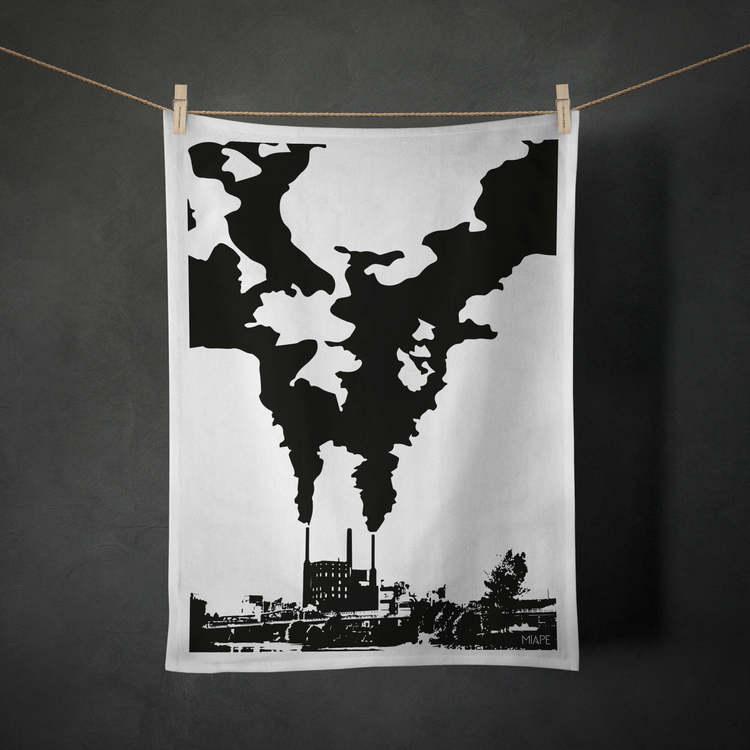 """Kökshandduk - """"Fabriken"""""""
