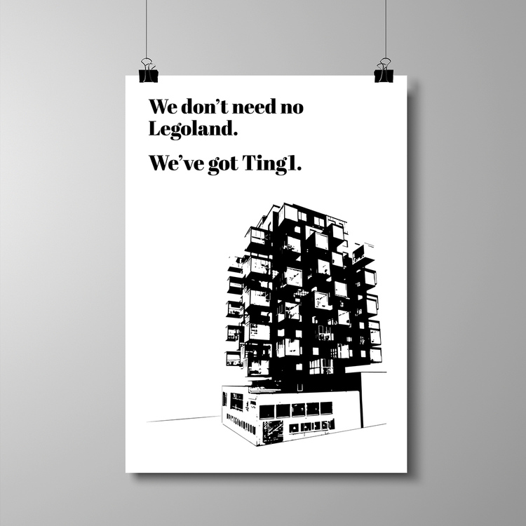 "Poster 50x70 cm - ""We've got Ting1"""