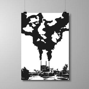 """Poster A3 - """"Fabriken"""" - NYHET!"""