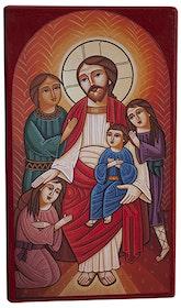 Jesus välsignar barnen 15 cm