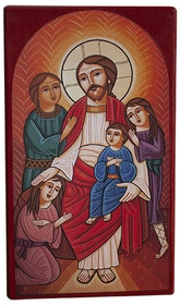 Jesus välsignar barnen 18 cm