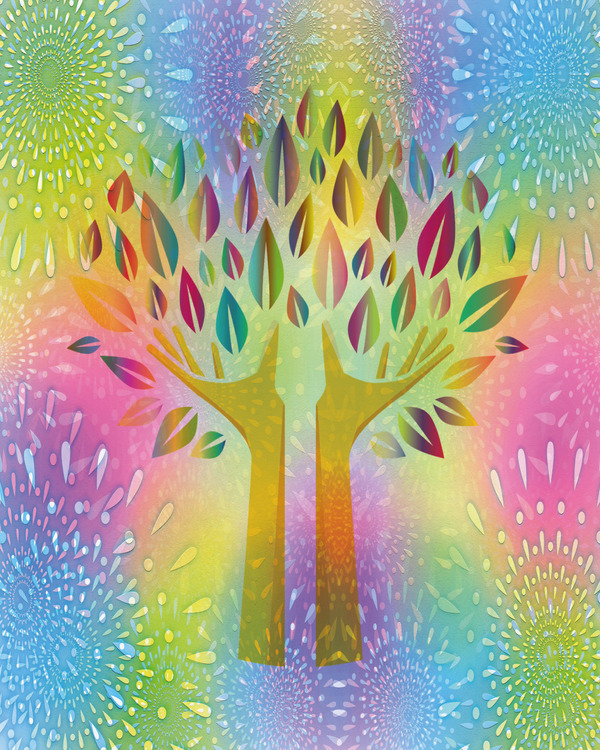 "Graphic Art ""Tree of Life"""