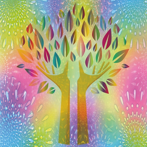 "Graphic Art ""Tree of Life"""