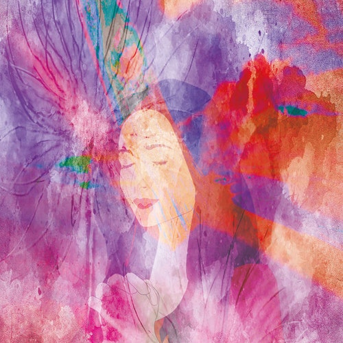 """Graphic Art """"The color language of the Spirit"""""""