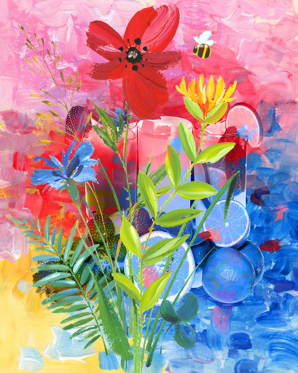 """Graphic Art """"The harmony of colors"""""""