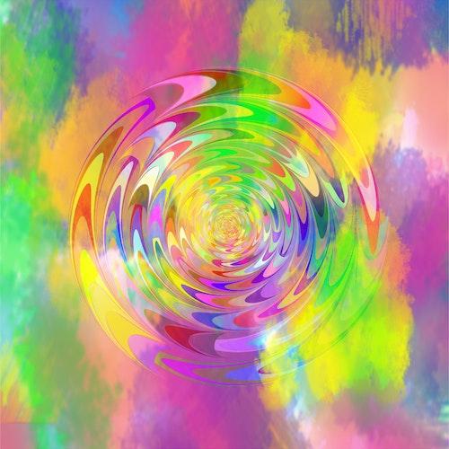 "Graphic Art ""Swirling energy"""