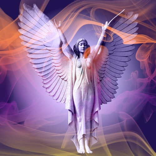 """Graphic Art """"We all have our guardian angels"""""""
