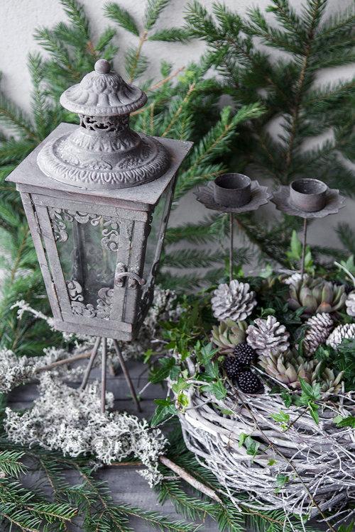 A lot Decoration - Lykta Antik