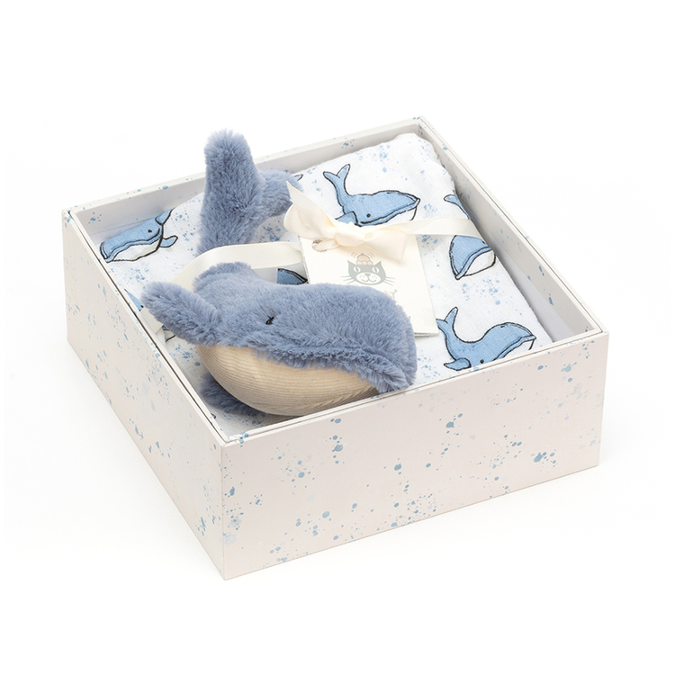Jellycat - Wilbur Whale -Gift Set