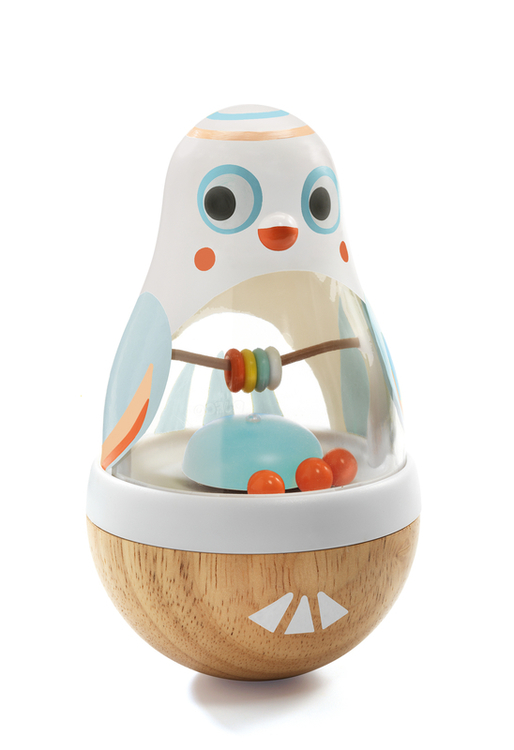 Djeco - Baby White - Pingvinen Poli