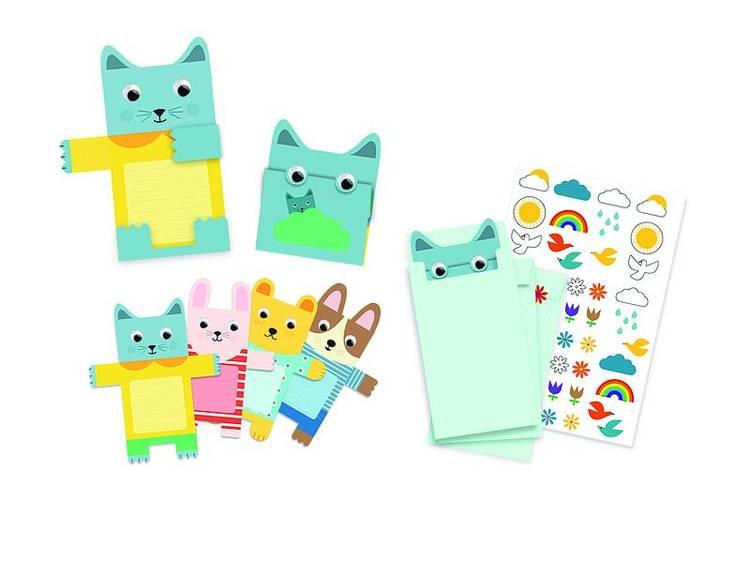 Djeco - Inbjudningskort - Cuddly toys
