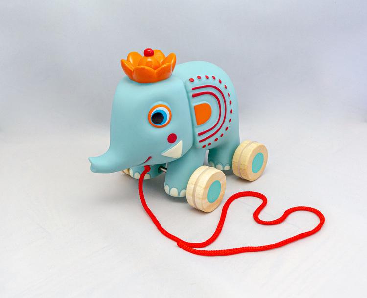 Cirkuselefanten Zephir - Dragleksak