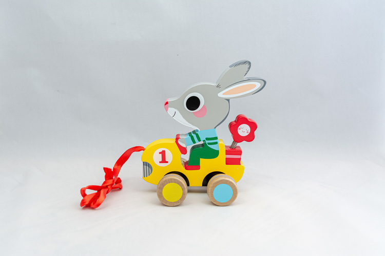 Kaninen Roulapic - Dragleksak
