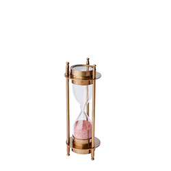 Timglas med kompass
