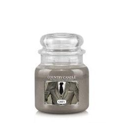 2-Wick M Jar-Grey