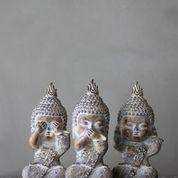 Buddha monks - see speak hear no evil