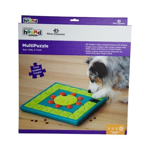 Nina Ottosson Dog Multi Puzzle Grön
