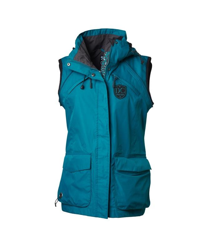 DogCoach Summer Jacket - Woman petroleum Large