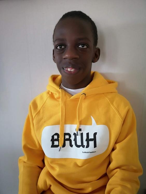 Brüh hoodie (yellow)