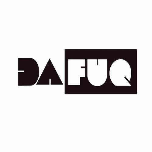 Dafuq hoodie (black)