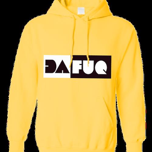 Dafuq hoodie (yellow)