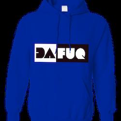 Dafuq hoodie (blue)