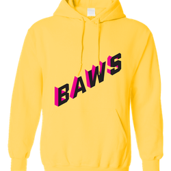 Baws hoodie (yellow)