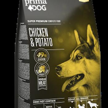 Hundfoder Kyckling och potatis 12kg