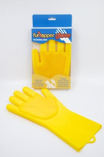 Furzapper grooming handske