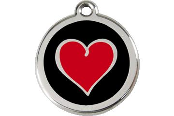Färgat hjärta