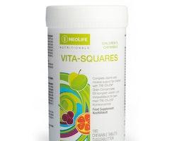 Vita-Squares, Kosttillskott för barn, tuggtablett