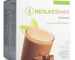 NeoLifeShake Rich Chocolate, måltidsersättande proteinshake, choklad