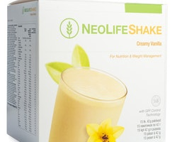 NeoLifeShake Creamy Vanilla, Måltidsersättande proteinshake, vanilj